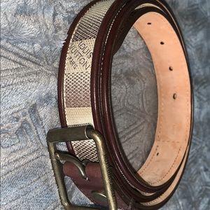 Louis Vuitton vintage belt